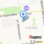 Душистый хмель на карте Белгорода