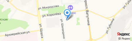 Овощной на карте Белгорода