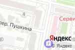 Схема проезда до компании ТехноРесурс в Белгороде