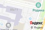 Схема проезда до компании Высшая школа управления в Белгороде