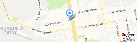 Винтаж на карте Белгорода