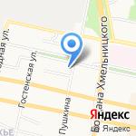Пьяный Лось на карте Белгорода