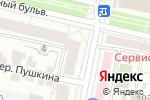 Схема проезда до компании COSMO LOUNGE в Белгороде