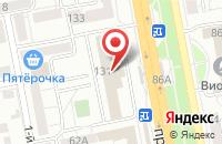 Схема проезда до компании Голем в Белгороде