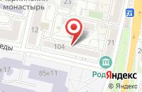 Схема проезда до компании Vip-цветы в Белгороде