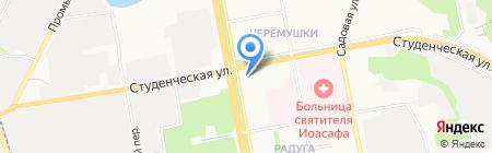 Святое Белогорье против детского рака на карте Белгорода