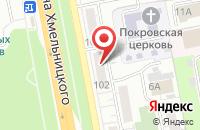 Схема проезда до компании Дверной в Белгороде