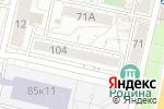 Схема проезда до компании BIG ONE bubble tea в Белгороде