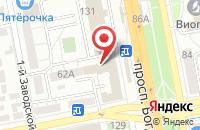 Схема проезда до компании Арт Аудит в Белгороде