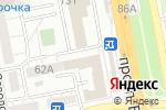 Схема проезда до компании Стилист в Белгороде