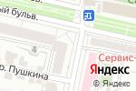 Схема проезда до компании Восток-Запад в Белгороде