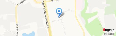 Мобильные фишки на карте Белгорода