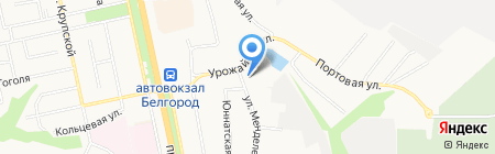 Управление государственного автодорожного надзора по Белгородской области на карте Белгорода