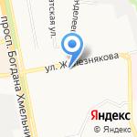Lady на карте Белгорода