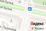 Схема проезда до компании Пьяный Лось в Белгороде