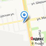 Доброречье на карте Белгорода