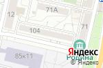 Схема проезда до компании Кот-флорист в Белгороде
