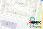 Схема проезда до компании Центральная Свердловская адвокатская контора г. Белгорода в Белгороде