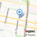Бел-Компьютерс на карте Белгорода