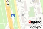 Схема проезда до компании Данила-Мастер в Белгороде