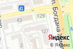 Схема проезда до компании Zoro в Белгороде