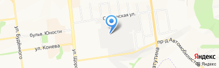 Хладопром на карте Белгорода