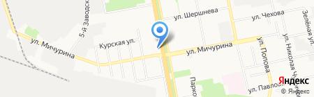 Белгородоблпроект на карте Белгорода