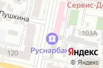 Схема проезда до компании КБ Руснарбанк в Белгороде