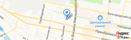 КБ РУСНАРБАНК на карте Белгорода