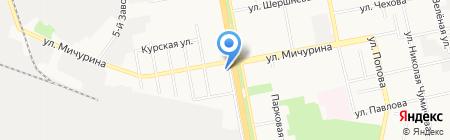 Жюль Верн на карте Белгорода