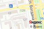 Схема проезда до компании Народный камин в Белгороде