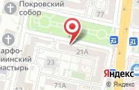 Схема проезда до компании Двери и Окна на любой вкус в Белгороде