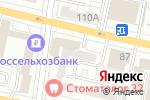 Схема проезда до компании Селена-Стиль в Белгороде