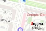 Схема проезда до компании Гармония Здоровья в Белгороде