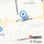 ТНК на карте Белгорода