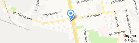 Адвокатский кабинет Бочарова Б.В. на карте Белгорода