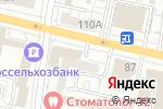 Схема проезда до компании Новые медицинские технологии в Белгороде
