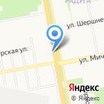 Киоск по продаже проездных билетов на карте Белгорода