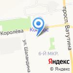 Социальное такси на карте Белгорода