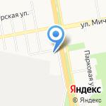 Элтис на карте Белгорода