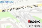 Схема проезда до компании Автомобильные выхлопные системы-Запад в Белгороде