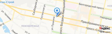 Смайл 32 на карте Белгорода