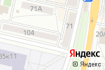Схема проезда до компании Hair BAR в Белгороде
