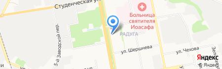 Фитнес Non-Stop на карте Белгорода