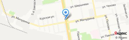 Ешь Пей Жуй на карте Белгорода