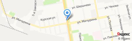 Мир цветов на карте Белгорода