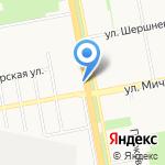 Магазин-салон цветов на карте Белгорода