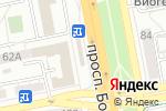 Схема проезда до компании Центрофинанс Групп в Белгороде