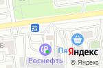 Схема проезда до компании Дорснаб 31 в Белгороде