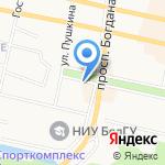 Белгородская областная общественная организация ветеранов на карте Белгорода